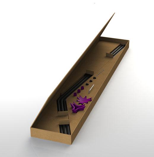 Sedus butler Kartonverpackt zum Sebstaufbau