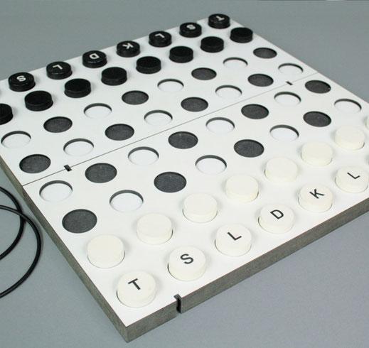 Brettspiel Schach, Dame, Reisespiel, Spielmittelgestaltung, Entwurfskonzept, Prototyp