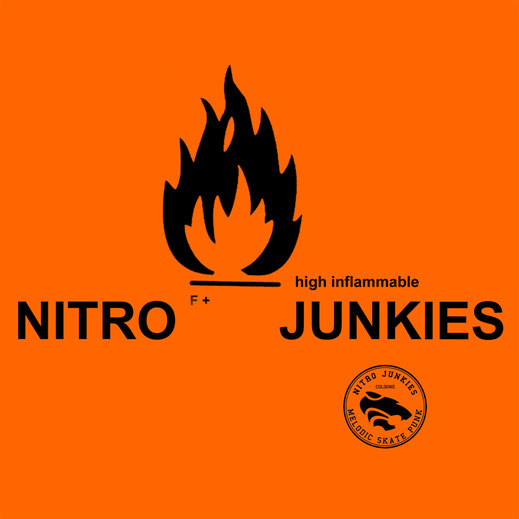 Nitro Junkies, Cologne, Cover Artwork, Skate Punk