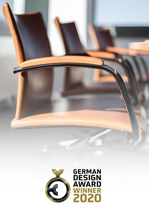 VisitaRe, Züco, Sitzmöbelmanufaktur, German Design Award 2020 Winner, conference, meeting