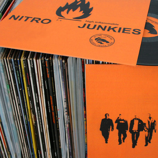 Cover Artwork, Nitrojunkies, Cologne, Skate Punk