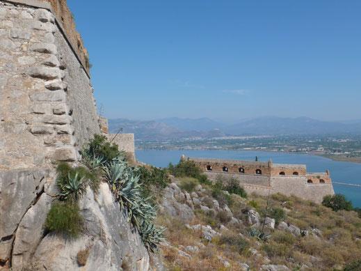 palamida fortezza palamidi antonio giancix detached fort morea