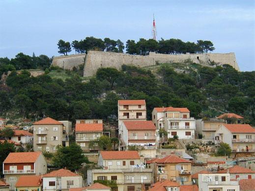 sebenico fortezza war of candia forte staccato fortress venetian republic