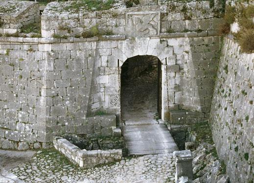 knin fortress bastion antonio giancix republic of venice