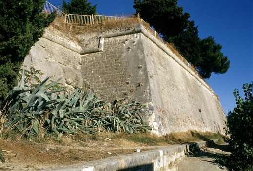 split fortezza fortress war of candia bastion