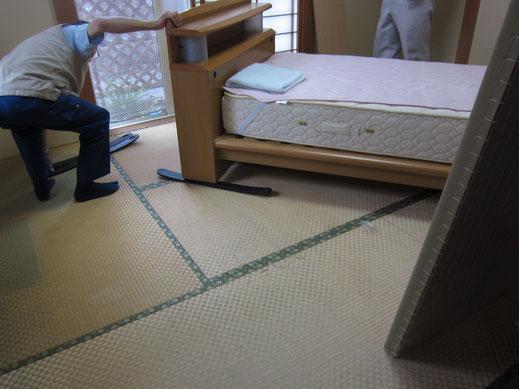 今ある畳と入れ替えるだけで、終了です。