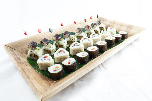 Fingerfood Sushi Vegan