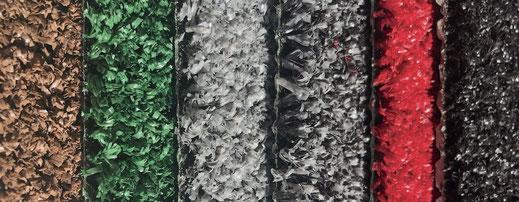 Kunstrasem als Bodenbelag für Gastronomie Terrasse