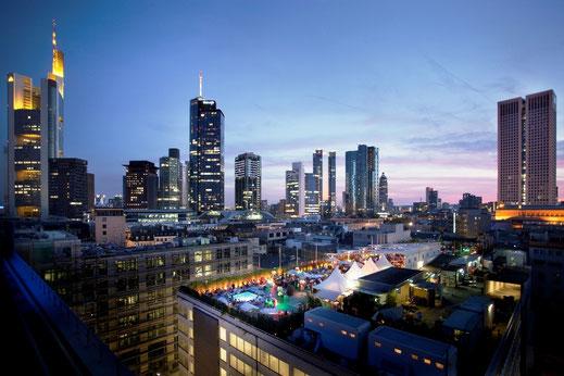 Rooftop Bar in Frankfurt