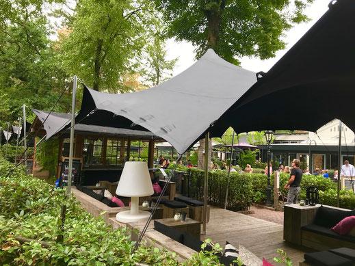 Mobiles Zelt für die Gastronomie