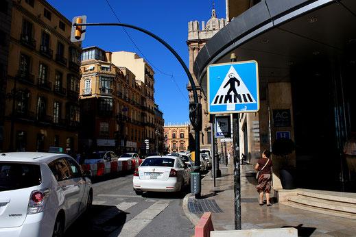 Malaga Calle Cortina Del Muelle