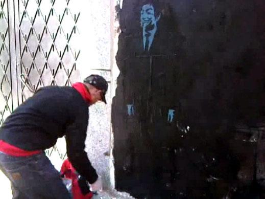 Rue de la Résistance Tanger Février 2012