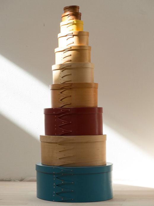Shaker oval boxes, Shakerdosen