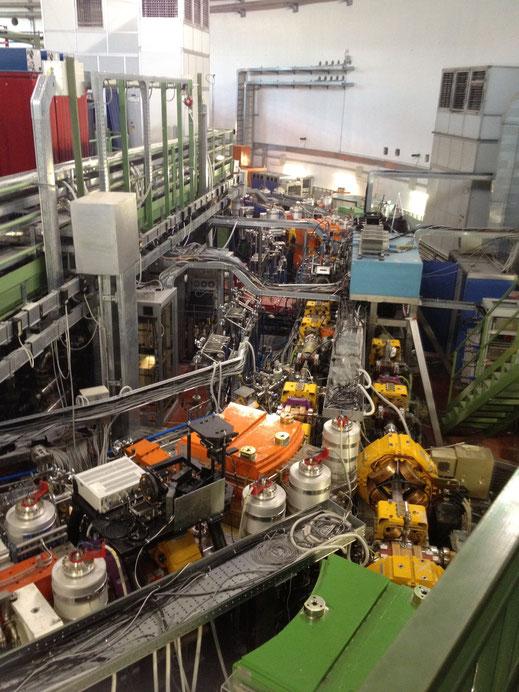 Photo i took while at the INFN laboratories.