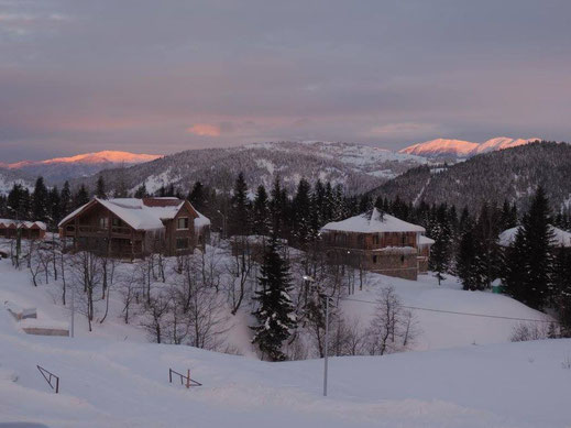 The picture is a bit missleading. Most of the days it was dumping. Unfortunately with a lot wind in higher elevation. Goderdzi Resort, 05/01/2016.