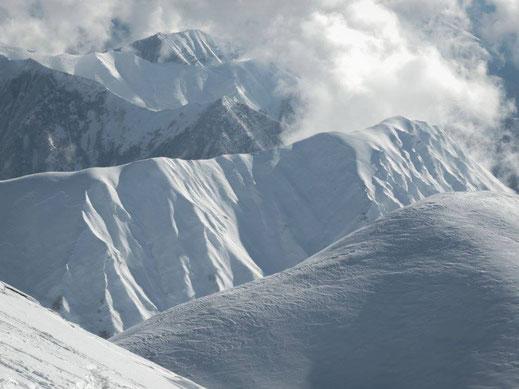 Gudauri, Caucasus, 10/01/2016.