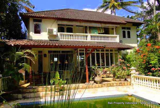 Colonial villa for sale Tabanan, South Bali.