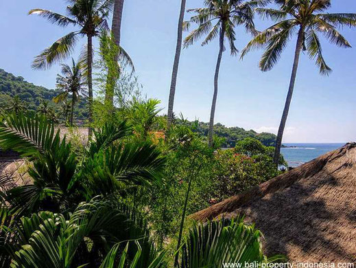 Candidasa oceanfront villa for sale