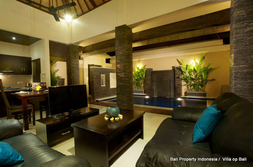 Luxurious 1 bedroom villa for sale located in the heart of Seminyak, South Bali.