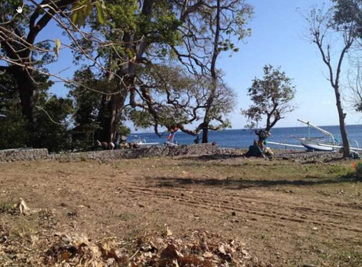 Beachfront land for sale, Amed, East Bali.