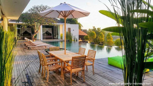 3 bedrooms villas for sale in Canggu, Bali.