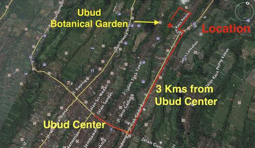 Land for sale, close to Ubud center.