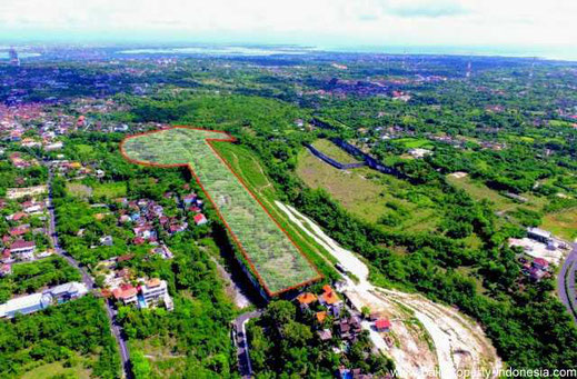 Land on offer for sale in Ungasan, Bukit