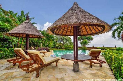 North Bali beachfront villa for sale