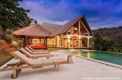 North Bali mountain villa for sale