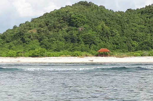 Land for sale located in West Lombok