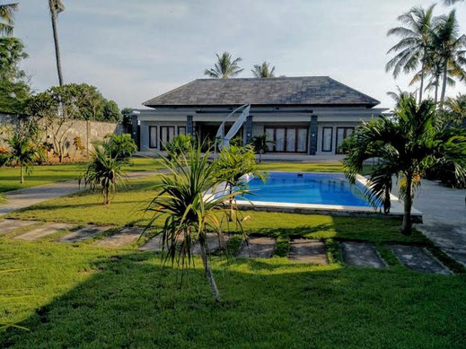 West Bali beachfront property for sale.