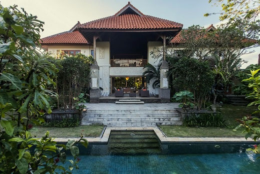 Indonesian style villa, 3 bedrooms located in North Sanur.