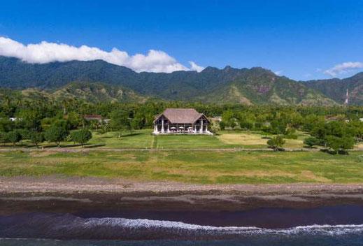 Pemuteran beachfront villa for sale