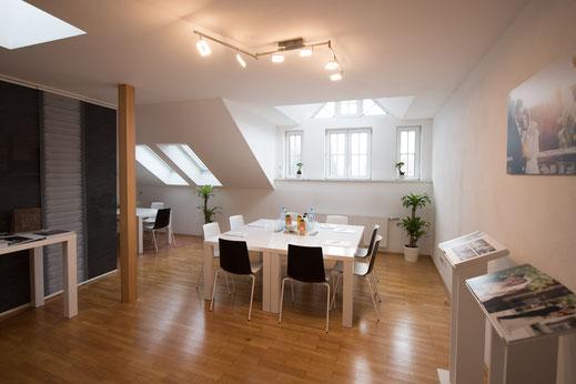 Seminarraum der Grazer Fotoschule in Graz St. Peter