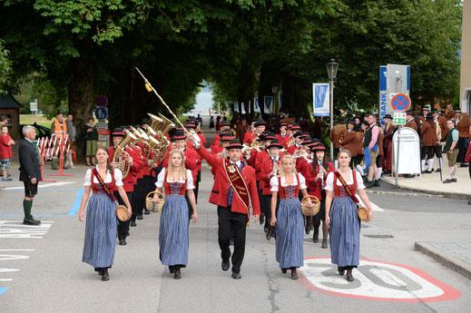 Bezirksmusifest - 90 Jahre Musikkapelle Tiefgraben.