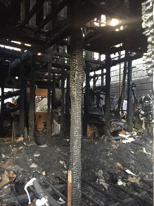 横浜市 火災現場 日系解体工業株式会社