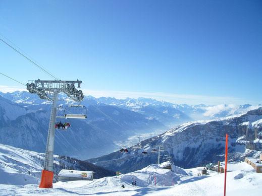 Wintersport in Leukerbad