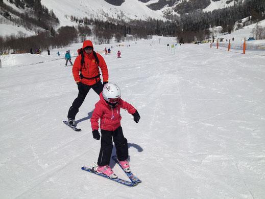 Skifahren in Leukerbad