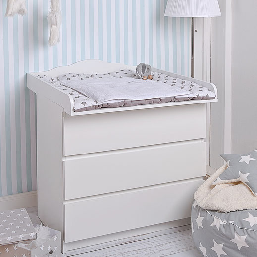 wickelaufsatz fur ikea malm polini kids wickelaufsatz fr kommode malm ikea in. Black Bedroom Furniture Sets. Home Design Ideas