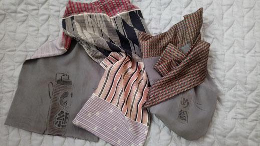 Kimono nagajuban écharpe en soie
