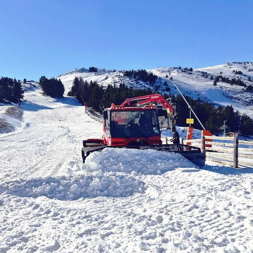 Ouverture 2019 de la station de ski de Camurac