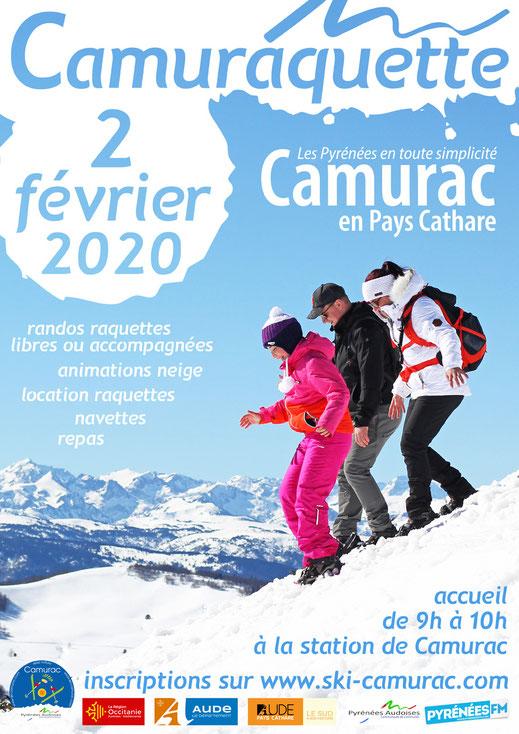 affiche Camuraquette 2021