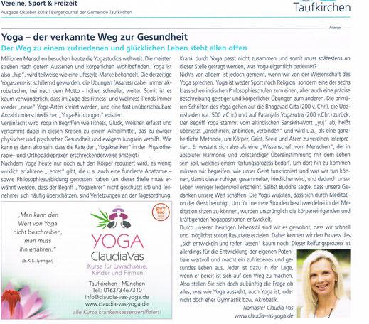Taufkirchner Bürgerjournal Oktober 2018