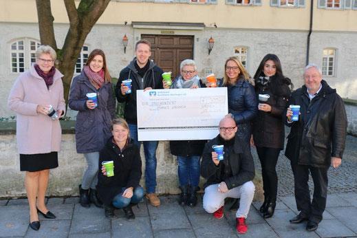 SAF Kirchheim - Einführung der Mehrwegbecher am Seminar in Zusammenarbeit mit der Stadt Kirchheim-Teck