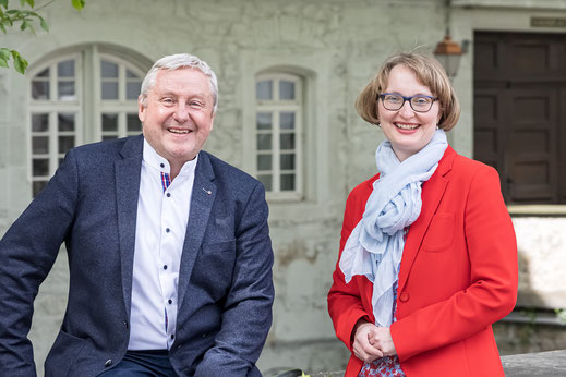 Leitung des SAF Kirchheim - Ute Recknagel-Saller und Klaus Buck