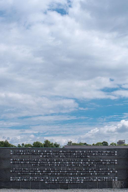 Il memoriale del Comitato Internazionale di Dachau