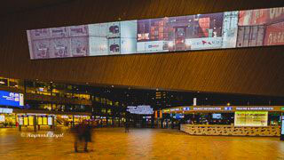 Rotterdam Centraal Station Holland architecture photography