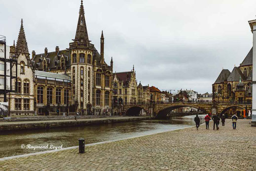 Sint Michelsbrug Gent Belgium