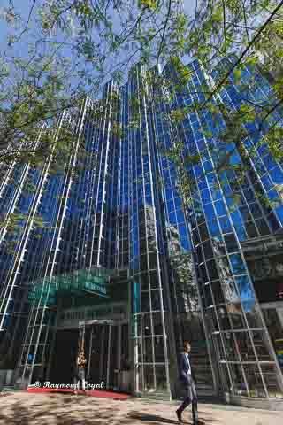hotel dubrovnik gebaeude glass fassade konstruktion