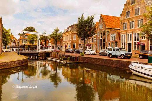 hoorn old town bridges canals boats
